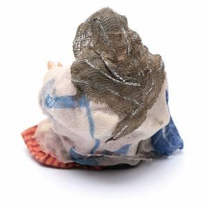 Femme aux marrons crèche Napolitaine 8 cm s2