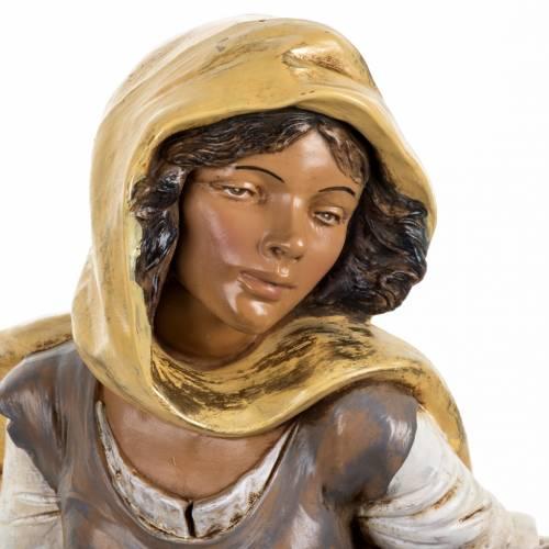 Femme avec amphore crèche Fontanini 45 cm s2