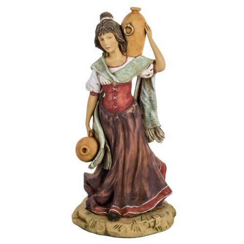 Femme avec amphore crèche noel 52 cm Fontanini s1