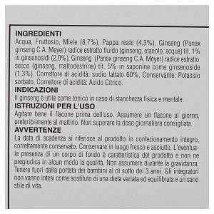 Integratore Fiale miele pappa reale ginseng Camaldoli s3