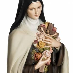 Fiberglas Statuen: Fiberglas Heilige Therese von Lisieux 80 cm