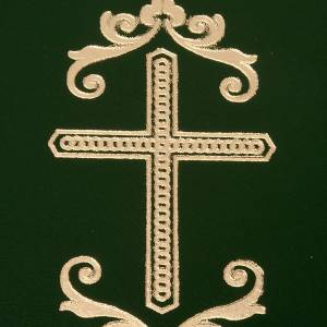 Folder for sacred rites in green leather s2