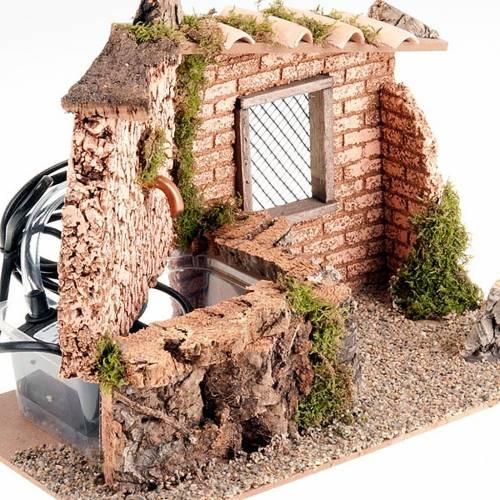Fontaine électrique murs et brick, 2W, article pour cr&eg s4