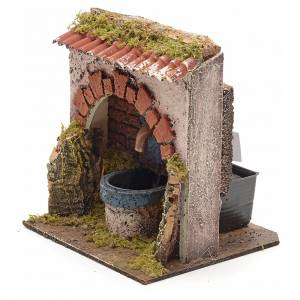 Fontaine en miniature électrique 13x14x11cm s2