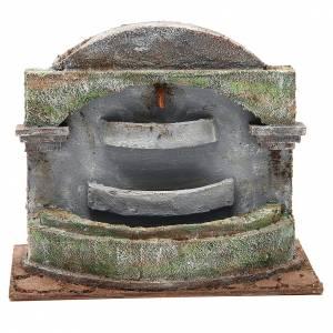 Fuentes: Fuente belén con efecto cascada 3 cubas 20x25x15 cm