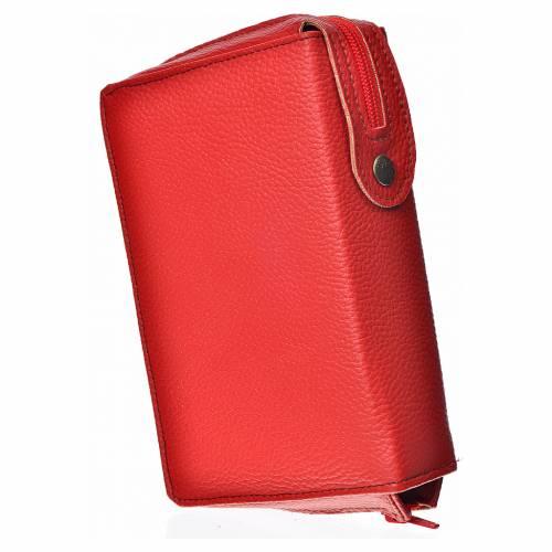 Funda Biblia CEE grande roja simil cuero s2