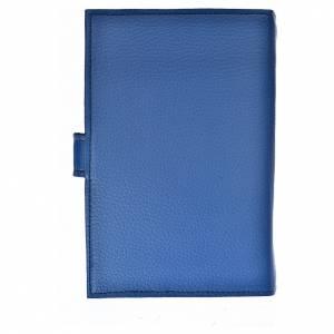 Funda Biblia Jerusalén Nueva Ed. simil cuero azul Virgen 3 Milenio s2