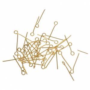 Gancetti metallo dorato Rosari fai da te s1