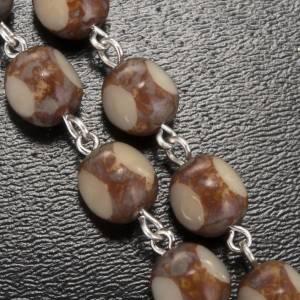 Ghirelli rosary, stone-like 7mm s5