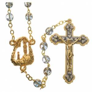 Ghirelli rosary with Lourdes grotto 6mm s1
