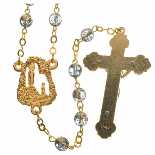 Ghirelli rosary with Lourdes grotto 6mm s2