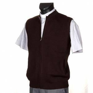 Vestes, gilets, pullovers: Gilet pour habit religieux, zip et poches
