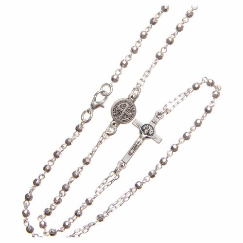 Girocollo rosario Croce Cristo Medjugorie s3