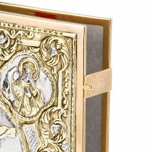 Golden brass lectionary/evangeliary bookcase s3