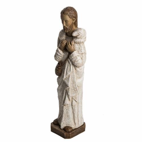 Good Shepherd in stone, Bethléem 56cm s3
