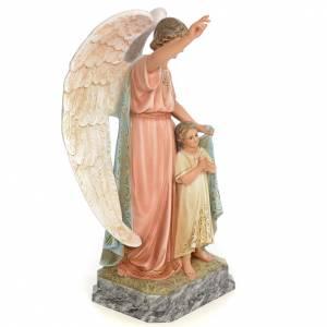 Guardian Angel 50cm, wood paste, elegant decoration s4