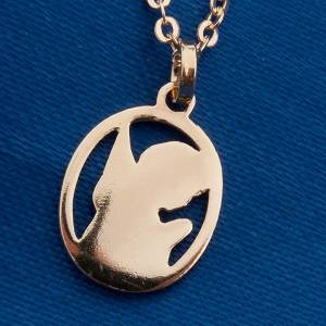 Guardian angel pendant in 750/00 gold - 1,55 gr s4