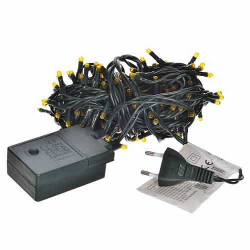 Guirlande 180 mini lucioles programmables cuivre pour intérieur s3