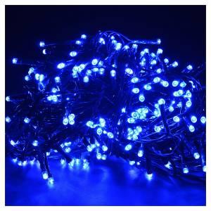 Guirlande 300 leds programmables bleus pour éclairage int/ext s2