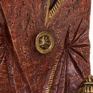Krippe Bethlèem: Heiliger König Melchiorre Bäuerliche Krippe