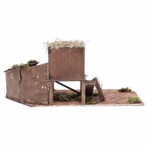 Hen house for Neapolitan Nativity measuring 24cm s4