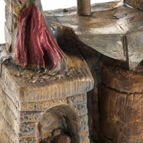 Herrero 10 cm. resina estatua belén s5