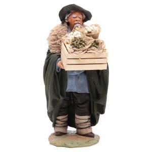 Belén napolitano: Hombre con caja 24 cm belén napolitano