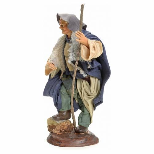 Homme au bâton crèche Napolitaine 18 cm s2