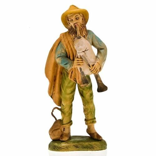 Homme qui joue de la musette, 18 cm 1