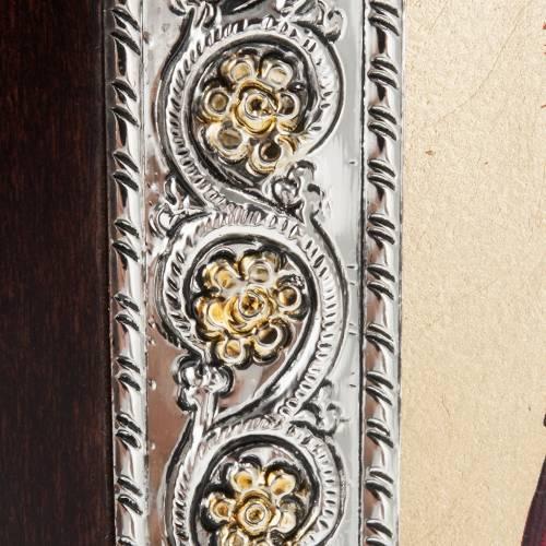 Icona Grecia Sacra Famiglia da tavolo argento 925 s3