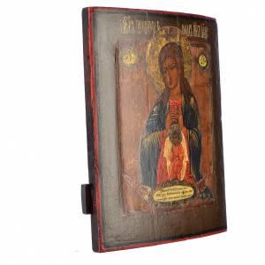 Icona russa antica Madonna del Parto s2