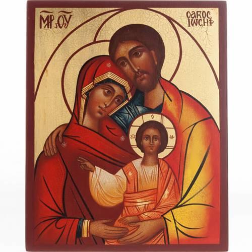 Icona russa Santa Famiglia s1