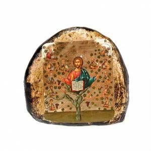 Icona stampata terracotta scene s2
