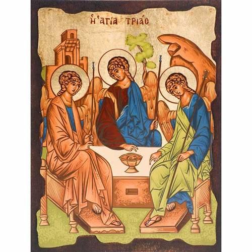 Icona Trinità di Rublev Grecia s1