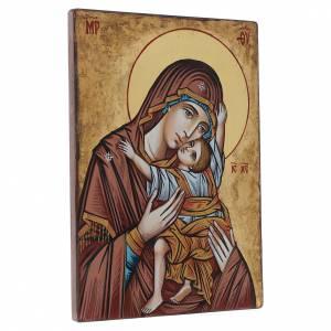Icona Vergine Odigitria 45x30 cm s3