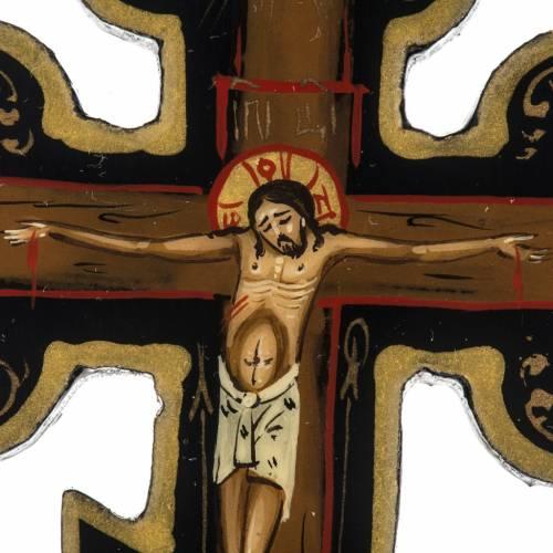 Icône Russe croix Mstiora cm 9 s2