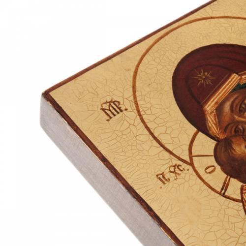 Icône Russe Mère de Dieu de Vladimir, Rublev s4