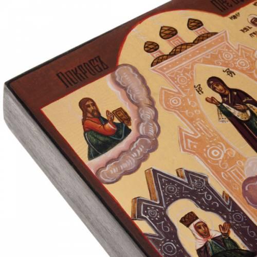 Icone Russe peinte Veil de Marie Pokrov s7