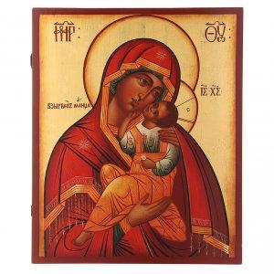 Icônes Russes peintes: Icône russe Vierge Tendresse