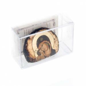 Icone stampate terracotta Gesù, Maria s2