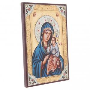 Handgemalte rumänische Ikonen: Ikone Gottesmutter Hodegetria 30x20cm
