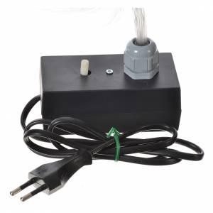 Illuminatore led dissolvenza tremolio 45 fili fibra ottica s6