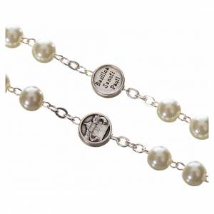 Imitation pearl rosaries: Imitation pearl rosary, Pope Francis