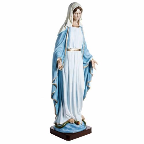 Immaculate statue in fiberglass, 100 cm s2