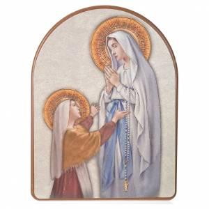 Impression sur bois 15x20 cm Lourdes s1