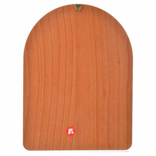 Impression sur bois 15x20 cm Sainte Thérèse s2