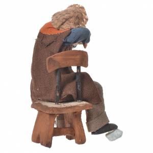 Ivrogne endormi sur une chaise 12 cm crèche Naples s2