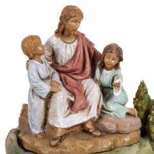 Statuen aus Harz und PVC: Jesus mit Kinder 12cm, Fontanini