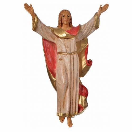 Jesús resucitado en PVC, 17cm Fontanini s1