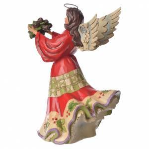 Jim Shore - Winter Wonderland Angel (Angelo del Natale) s3